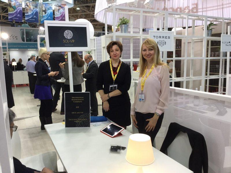 SOL V.I.P. Travel - в Москве, на выставке MITT