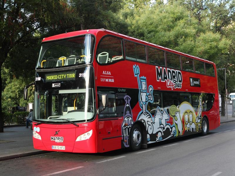 Madrid Bus Tour